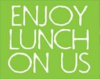 Enjoy Lunch on Us